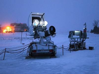 Gpm Weather Satellite Ground Sensor Poster
