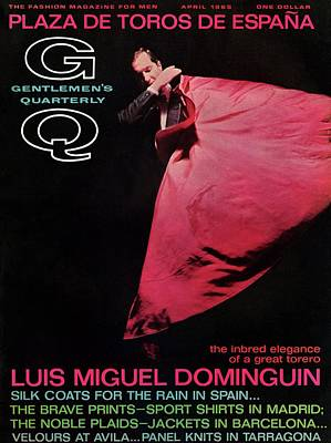 Gq Cover Featuring Miguel Dominguin Poster by Carl Fischer
