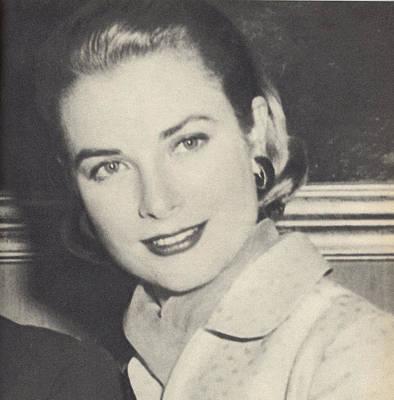 Grace Kelly 1956 Poster