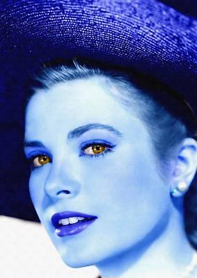 Grace Kelly Poster by Art Cinema Gallery