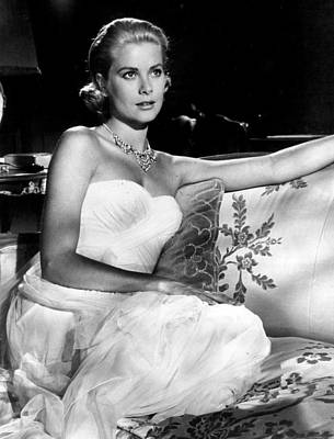 Grace Kelly Looking Gorgeous Poster by Retro Images Archive