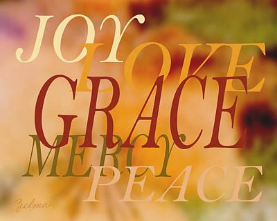 Grace Poster by Zelma Hensel