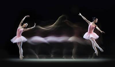 Graceful Balerina Poster by Antonyus Bunjamin (abe)