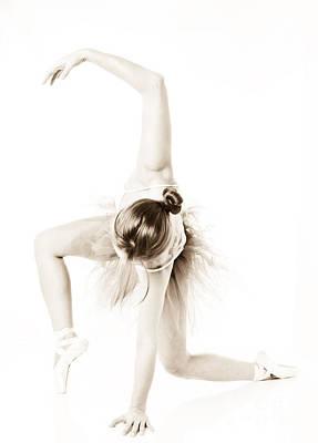 Graceful Ballet Dancer  Poster by Jt PhotoDesign