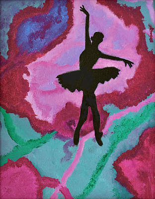 Graceful Beauty Poster by Margaret Harmon