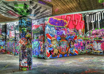 Graffiti 01 Poster by Svetlana Sewell