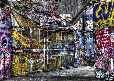 Graffiti 02 Poster by Svetlana Sewell