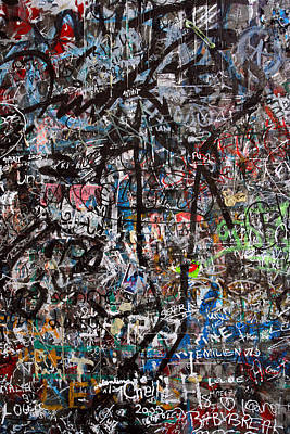 Graffiti Chaos Poster by Ron Sumners