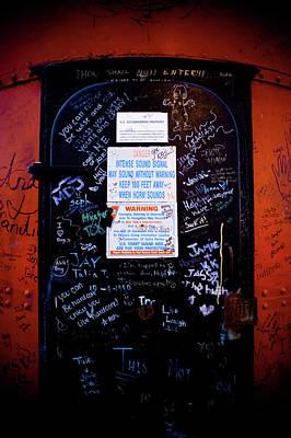 Graffiti Door Poster by Sebastian Musial