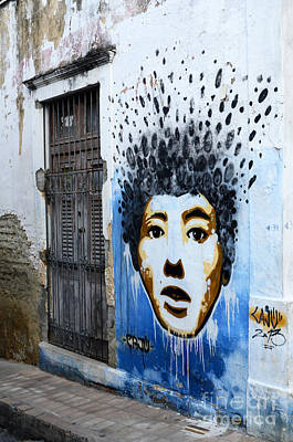 Graffiti Olinda Brazil 1 Poster by Bob Christopher