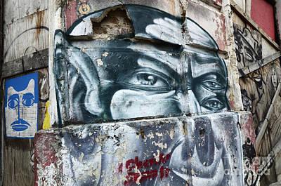 Graffiti Recife Brazil 1 Poster by Bob Christopher
