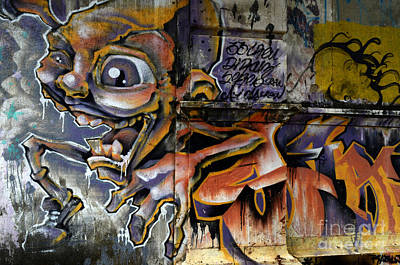 Graffiti Recife Brazil 11 Poster by Bob Christopher