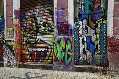 Graffiti Recife Brazil 2 Poster by Bob Christopher