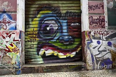 Graffiti Recife Brazil 4 Poster by Bob Christopher
