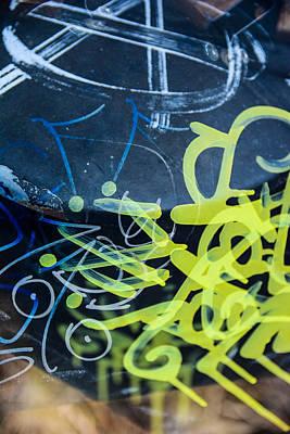 Grafiti Poster by Tommytechno Sweden