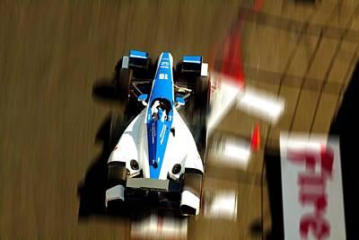 Graham Rahal Indy Racer Poster by Denise Dube