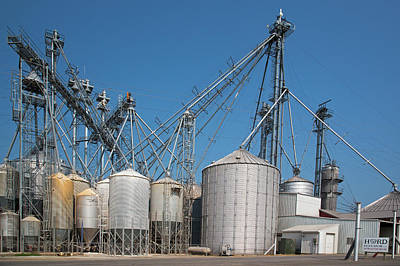 Grain Elevator Complex Poster by Jim West