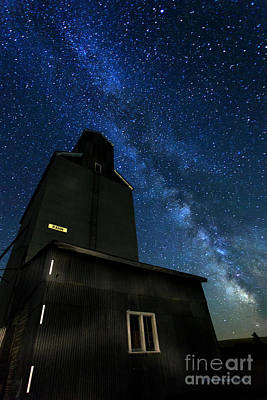 Grain Elevator  Poster by Beve Brown-Clark Photography