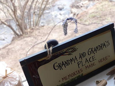 Gramma And Grampa's Place Poster by Korynn Neil
