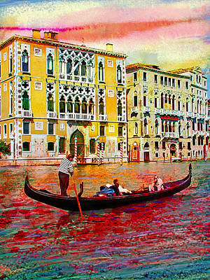 Grand Canal Poster by Steven Boone