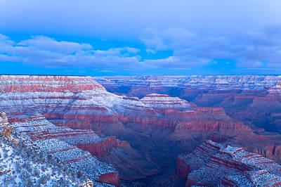 Grand Canyon At Dawn Poster by Jonathan Nguyen