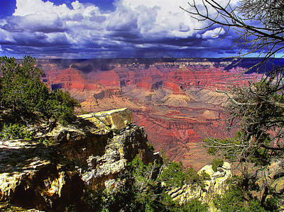 Poster featuring the photograph Grand Canyon by Craig T Burgwardt