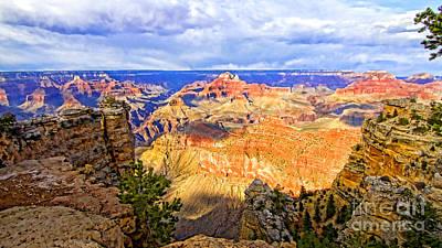 Grand Canyon Poster by Jason Abando