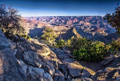 Grand Canyon Morning Poster by Daniel Hebard