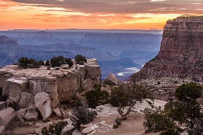 Grand Canyon Morning Poster
