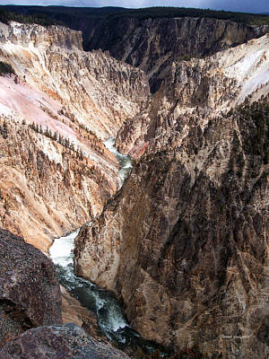 Grand Canyon Of Yellowstone 4 Poster