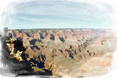 Grand Canyon Softness Poster