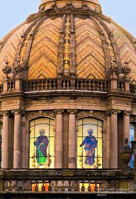 Poster featuring the photograph Grand Cathedral Of Guadalajara by David Perry Lawrence