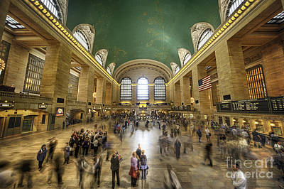 Grand Central Rush Poster