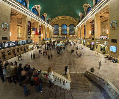 Poster featuring the photograph Grand Central Station by Steve Zimic