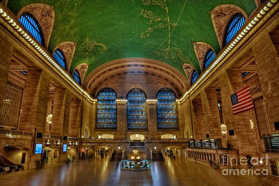Grand Central Station Poster by Susan Candelario