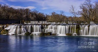Grand Falls In Joplin Missouri Poster
