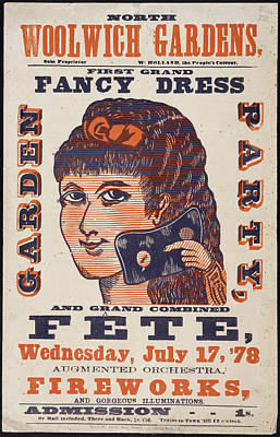 Grand Fancy Dress Garden Party Poster by British Library