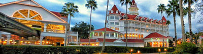 Grand Floridian Resort Walt Disney World Poster by Thomas Woolworth