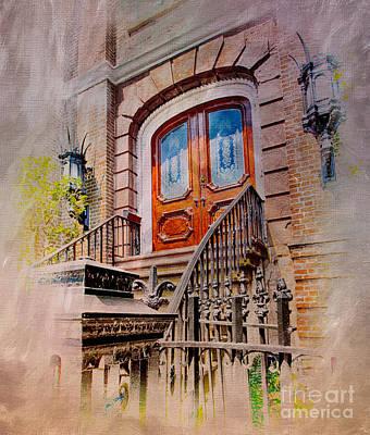 Grand Gothic Doorway Poster by Dan Carmichael