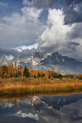 Grand Ole Tetons Poster