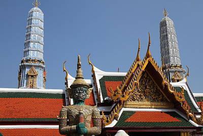 Grand Palace In Bangkok Thailand - 011312 Poster