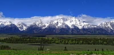 Grand Teton National Park Panorama Poster