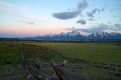 Grand Tetons Before Sunrise Poster by Brian Harig