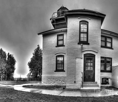 Grand Traverse Lighthouse Poster by Twenty Two North Photography