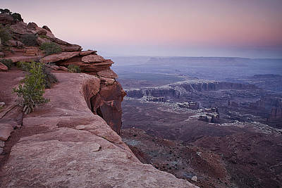 Grand View Point At Canyonlands Poster