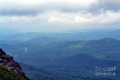 Grandfather Mountain Linville Nc Poster by Eva Thomas
