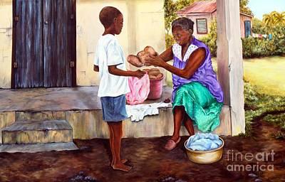 Grandma's Creole Bread Poster