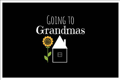 Grandmas House Poster by Chastity Hoff