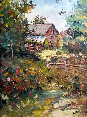Grandpa's Barn Poster by Lee Piper