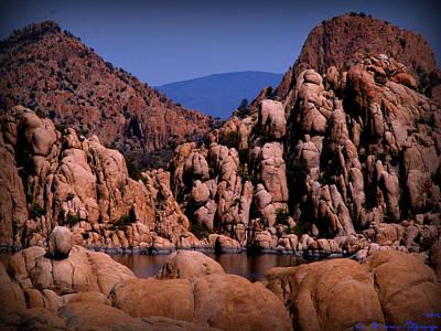 Granite Monoliths Poster by Aaron Burrows